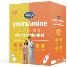 Silentnight Dual Control Electric Blanket - Double