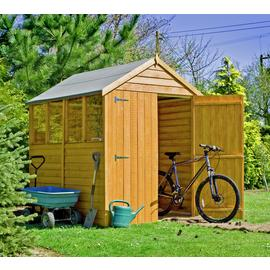 Homewood Wooden 7 x 5ft Overlap Double Door Shed