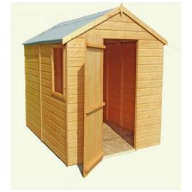 Homewood Wooden 7 x 5ft Shiplap Shed Best Price, Cheapest Prices