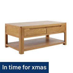 Argos Home Weymouth Oak Veneer Coffee Table