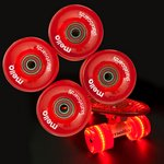 more details on Mello LED Jelly Wheel Set - Red.