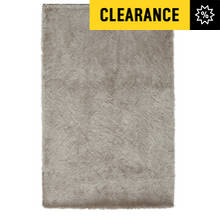Collection Silky Shaggy Deep Pile Rug - 110x170cm- Champagne