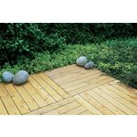 more details on Forest Decking Tiles 60 x 60 cm - Pack of 4.