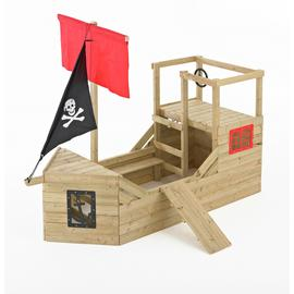 TP Pirate Galleon Wooden Playhouse