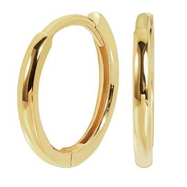 Revere 9ct Gold Huggie Hoop Earrings
