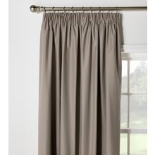 HOME Blackout Thermal Curtains - 117x137cm - Cafe Mocha