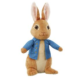 Beatrix Potter Talking Movie Peter Rabbit Soft Toy