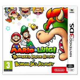 Bowser's Inside Story & Bowser Jrs Journey Nintendo 3DS Game