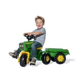 John Deere Trio Trac with Electric Steering Wheel & Trailer