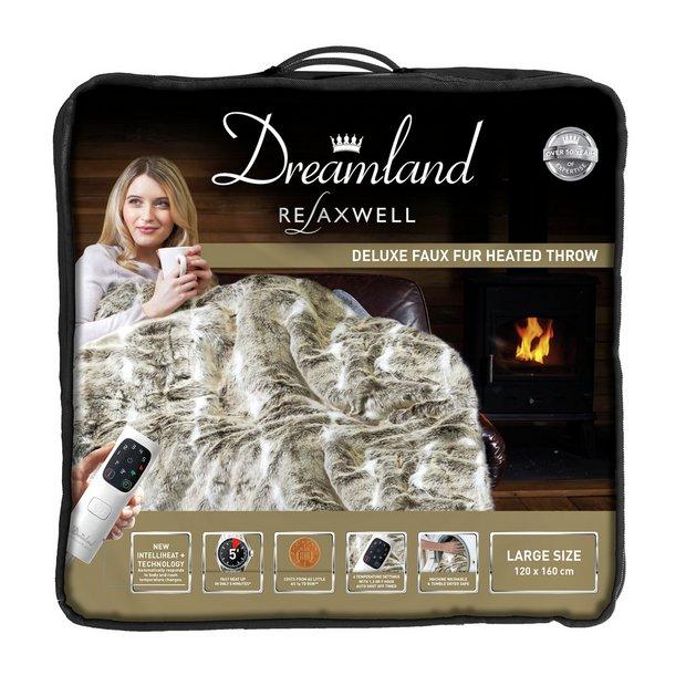 intelliheat luxury heated available via shop. Black Bedroom Furniture Sets. Home Design Ideas