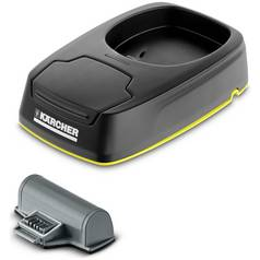 Karcher WV5 Window Vacuum Charging Station and Battery