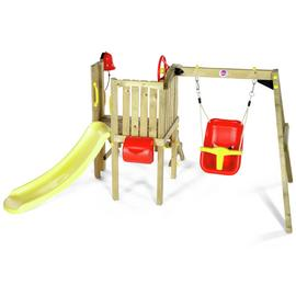 Plum Toddlers Tower Wooden Climbing Frame.