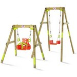 more details on Plum Wooden Growing Swing.