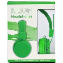 Vivitar Neon Headphones - Green