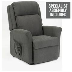 Memphis Riser Recliner Chair with Dual Motor - Charcoal