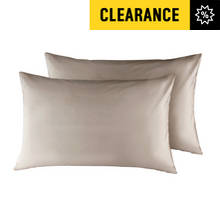 Argos Home Pair of Housewife Pillowcases - Ivory