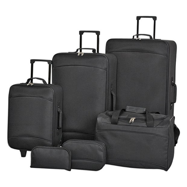 Buy Simple Value 6 piece Luggage Set at Argos.co.uk - Your Online ...