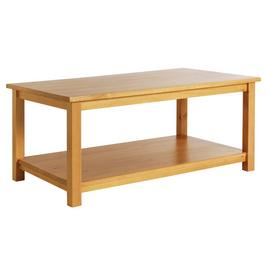 Argos Home Porto Solid Wood Coffee Table - Oak Effect