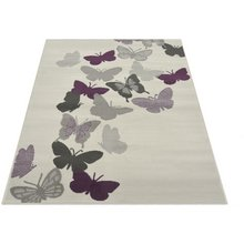 Butterflies Rug - 60x110cm - Natural