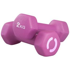 Opti Neoprene Dumbbell Set - 2 x 2kg