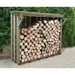 more details on Forest Small Flip Lid Log Store - 4 x4 ft.
