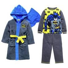Batman Robe and Pyjamas - 2-3 Years.