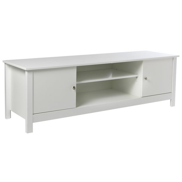 Buy Collection Osaka 2 Door Tv Unit White At Your Online Shop For Entertainment
