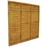 more details on Forest Tradelap Fence Panel - Pack of 20.