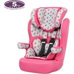 more details on Obaby Group 1-2-3 High Back Booster Car Seat - Cottage Rose.