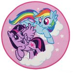 more details on My Little Pony Rug - 80x80cm.