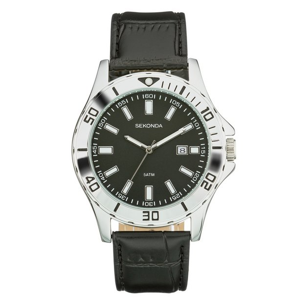 buy men s watches at argos co uk your online shop for jewellery more details on sekonda men s sports style black strap watch