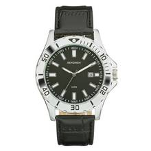 Sekonda Men's Sports Style Black Strap Watch