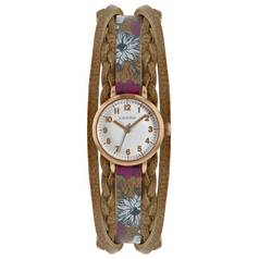 Kahuna Ladies' Floral Strap Watch