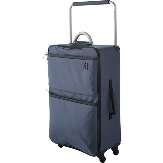 Buy IT Luggage World's Lightest Medium 4 Wheel Suitcase at Argos ...