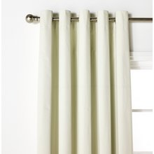 HOME Blackout Thermal Curtains - 117x137cm - Cotton Cream