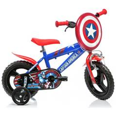 Captain America 12 Inch Kids Bike