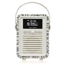 VQ Retro Emma Bridgewater Mini DAB Radio - Black Toast