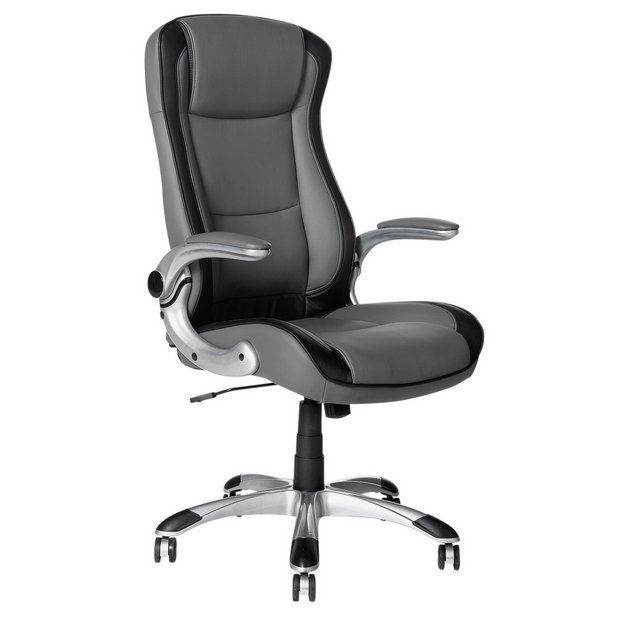 Buy HOME Dexter Adjustable Office Chair Grey At