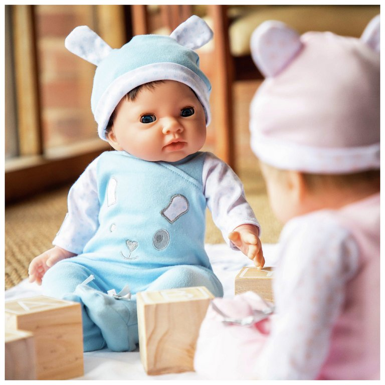 Buy Chad Valley Tiny Treasures Doll with Blue Outfit & Hat ...