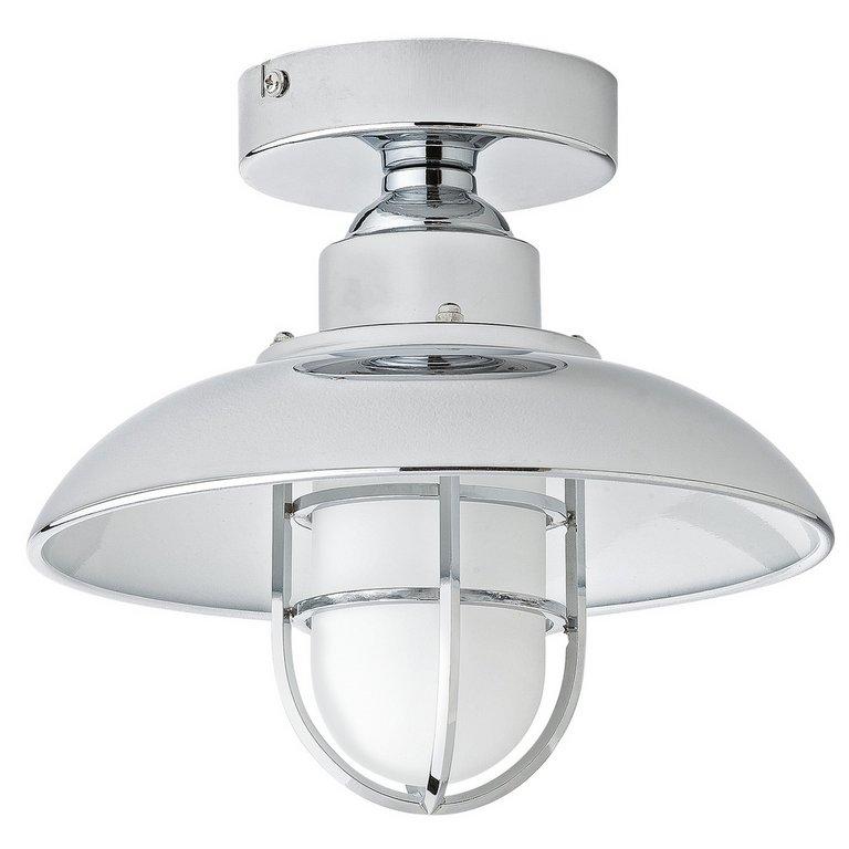 Bathroom Light Fixtures Argos buy collection kildare fisherman lantern bathroom light - nickle
