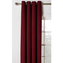 Heart of House Hudson Eyelet Curtains - 168x229cm - Berry