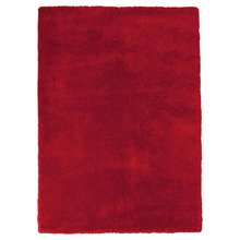ColourMatch Snuggle Shaggy Rug - 160x230cm - Poppy Red