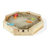 more details on Plum Treasure Beach Wooden Sandpit.