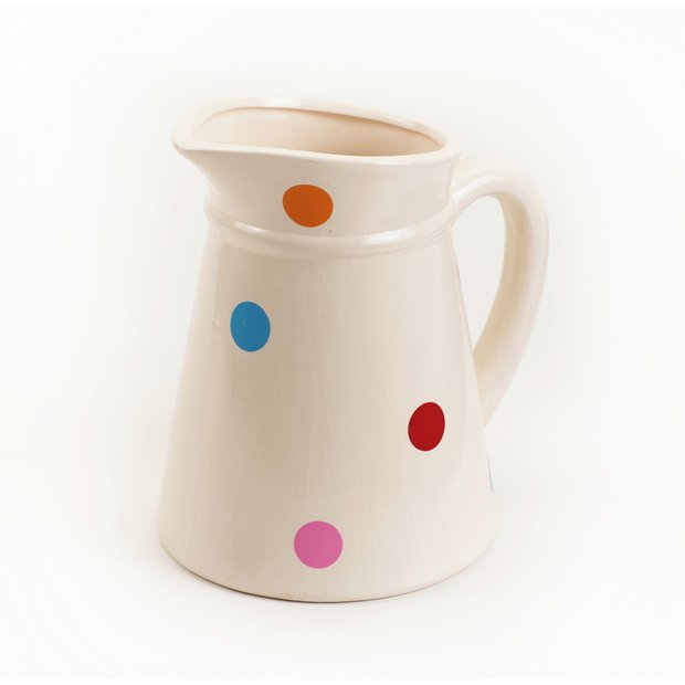 Pleasing Buy Planters At Argoscouk  Your Online Shop For Home And Garden With Licious  More Details On Ceramic Spotty Watering Jug Garden Planter With Attractive Kew Gardens Entrance Also Hatfield Garden Village Vets In Addition Grey Garden Furniture And Nail Parlour Welwyn Garden City As Well As Ideal Garden Additionally Funeral Poem Garden Lover From Argoscouk With   Licious Buy Planters At Argoscouk  Your Online Shop For Home And Garden With Attractive  More Details On Ceramic Spotty Watering Jug Garden Planter And Pleasing Kew Gardens Entrance Also Hatfield Garden Village Vets In Addition Grey Garden Furniture From Argoscouk