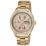 more details on Citizen Eco-Drive Ladies' Rose Multidial Bracelet Watch.