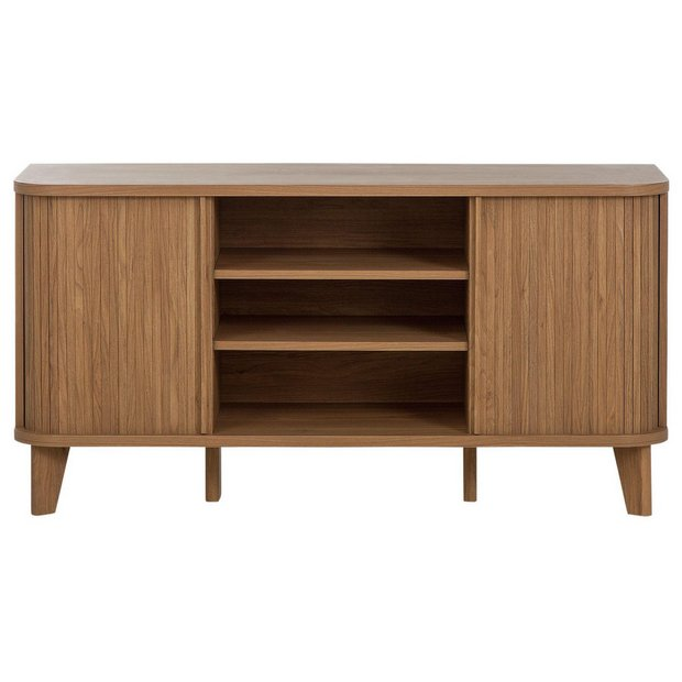 Buy Hygena Jabara 2 Door Low Sideboard Tv Unit Oak Effect At Your Online Shop