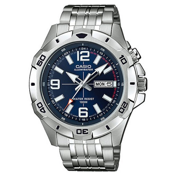 buy casio men s watches at argos co uk your online shop for more details on casio mtd 1082d 2avef analogue sports watch