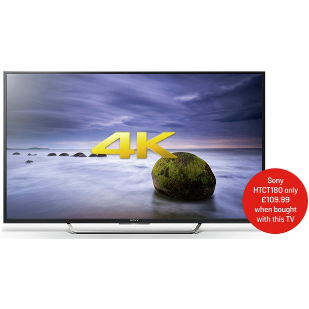 buy sony kd49xd7005 49 inch android smart 4k ultra hd tv w. Black Bedroom Furniture Sets. Home Design Ideas
