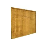 more details on Forest 1.5m Closeboard Fence Panel - Pack of 3.