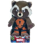 more details on Marvel Guardians of the Galaxy Rocket Raccoon 10 Inch Plush
